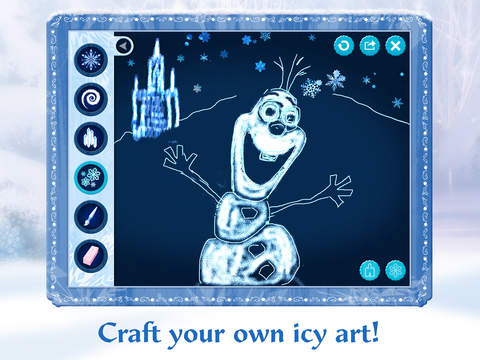 Frozen: Storybook Deluxe - Now with Frozen Fever! screenshot 10