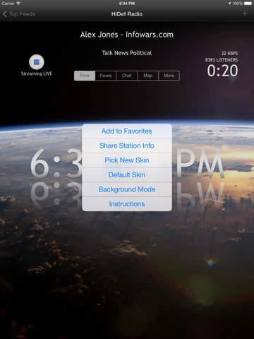HiDef Radio - Free News & Music Stations screenshot 10