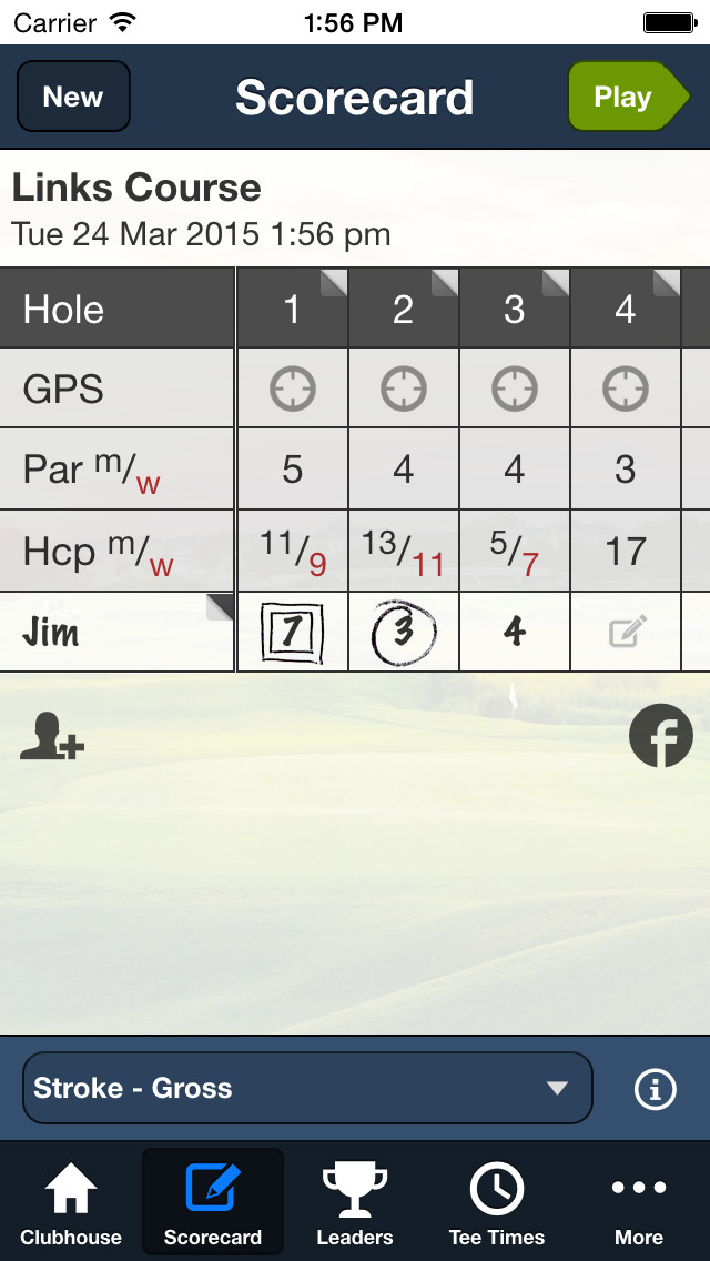 Wild Dunes Golf screenshot 3