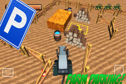3D Farm-ing Tractor Park-ing School Drive-r Simula - náhled