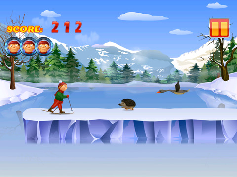 Ski Adventure Runner screenshot 2