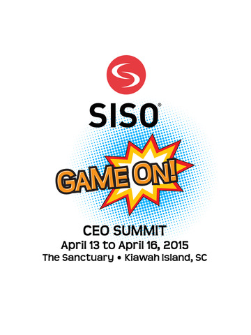 SISO CEO 2015 screenshot 4