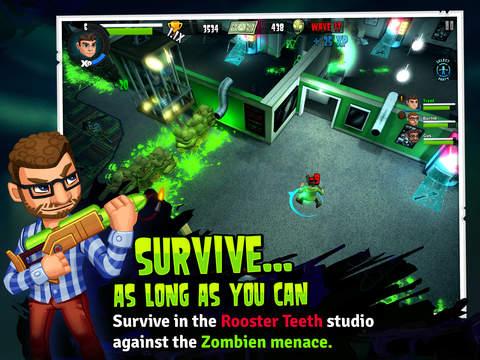 Rooster Teeth vs. Zombiens screenshot 8