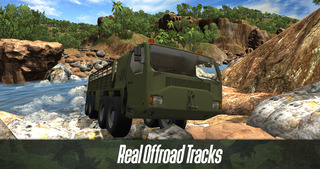 Army Truck Offroad Simulator 3D - Drive military truck! screenshot 1