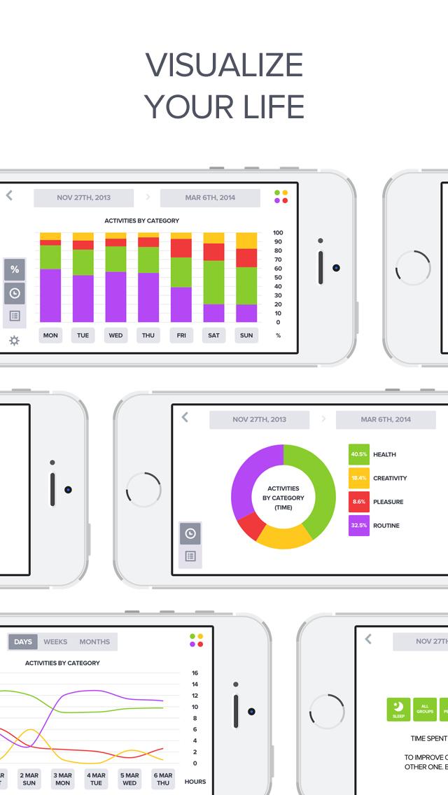 Optimized - Lifelogging and Quantified Self Improvement App screenshot 5