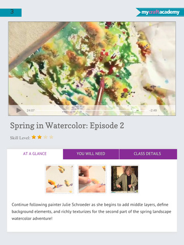 Paint a Spring Landscape in Watercolor screenshot 10