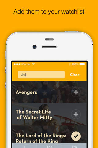 MovieList - Keep track of movies and TV shows - náhled