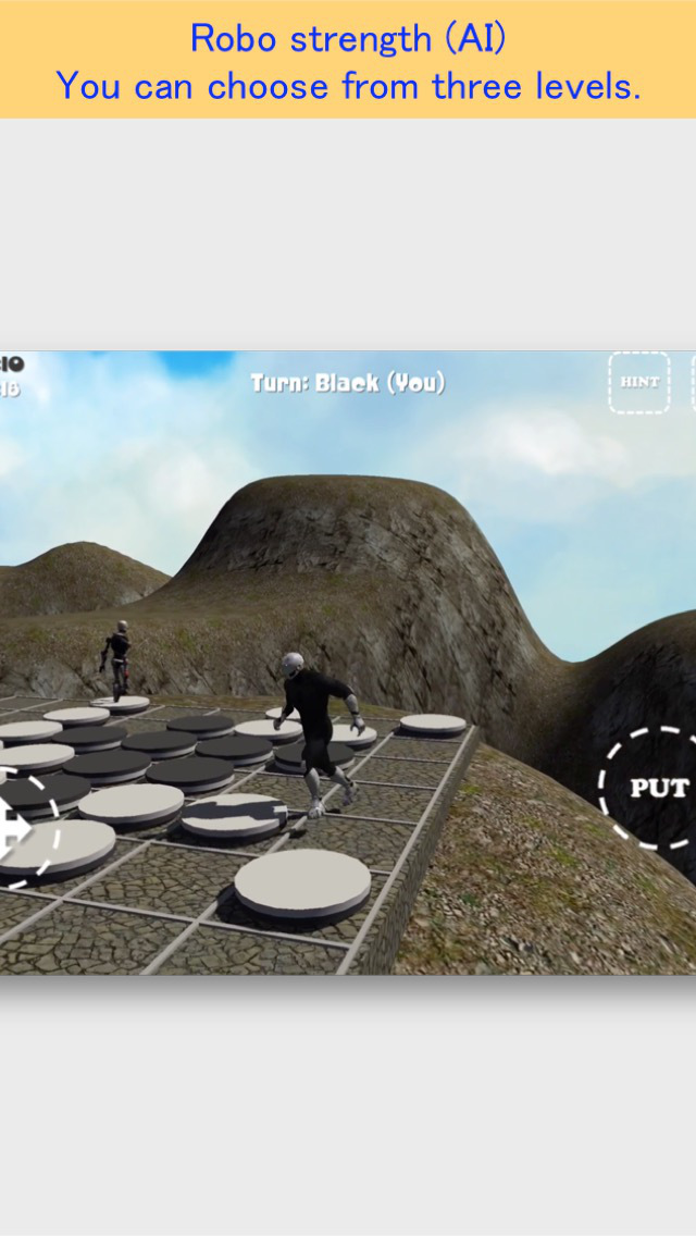 Rooftop Othello Robo FREE screenshot 4