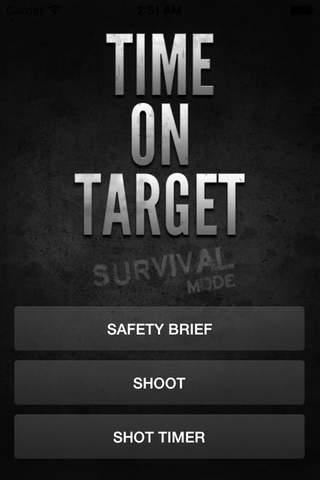 Time on Target - Survival Mode - náhled