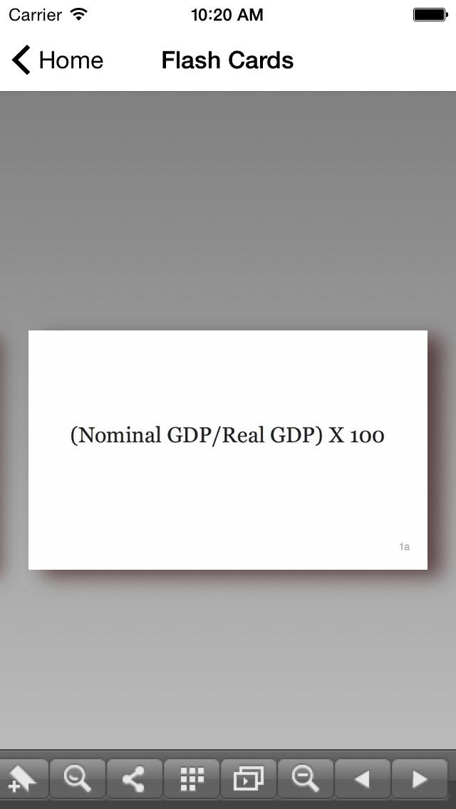 CLEP Macroeconomics Buddy screenshot 4