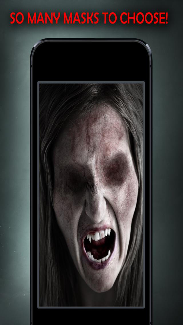 ZombieFaced Scary Photo Booth screenshot 4