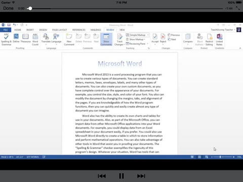 Mastering for Microsoft Office Word Edition Beginn - náhled