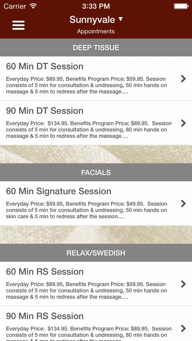 LaVida Massage screenshot #3