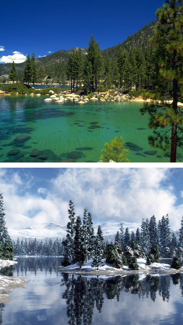 Lake Tahoe Wallpapers Freeski Hiking Pictures Apps 148apps