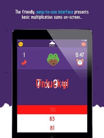 Multiplication with Ibbleobble screenshot 8