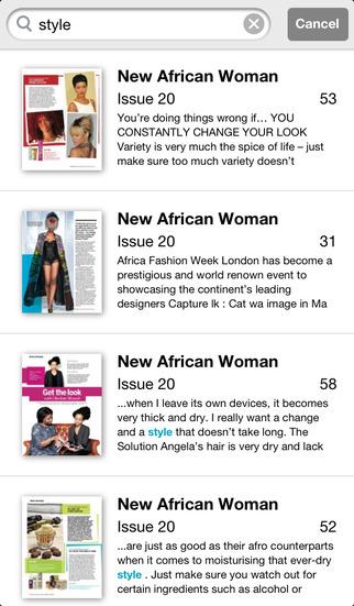 New African Woman screenshot 4