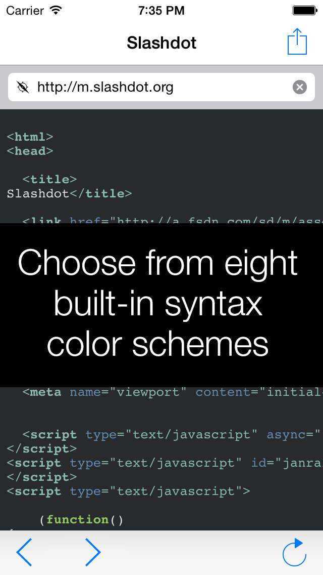 View Source – HTML, JavaScript and CSS screenshot 4