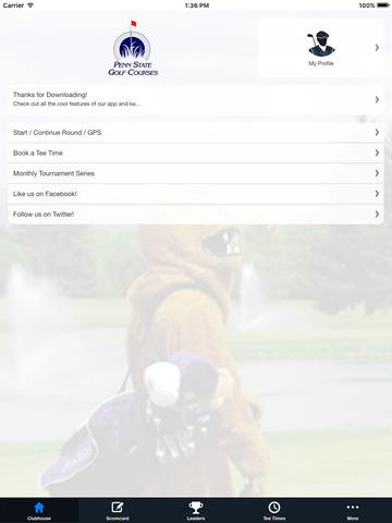 Penn State Golf Courses screenshot 7