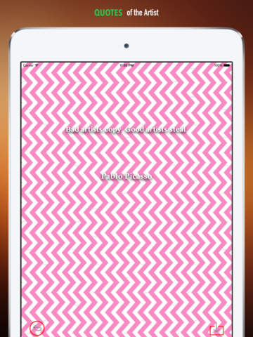 Chevron Wallpapers HD: Quotes Backgrounds Creator with ZigZag Designs and Patterns screenshot 9