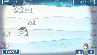 Snowmen Vs Penguin FREE screenshot 5