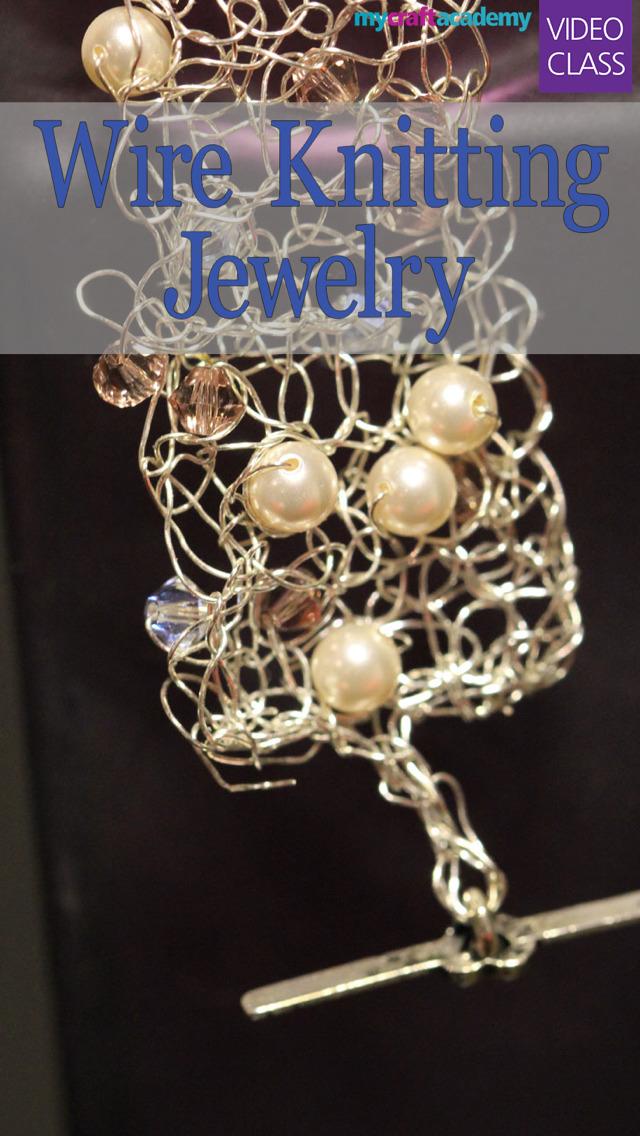 Wire Knitting Jewelry screenshot 1
