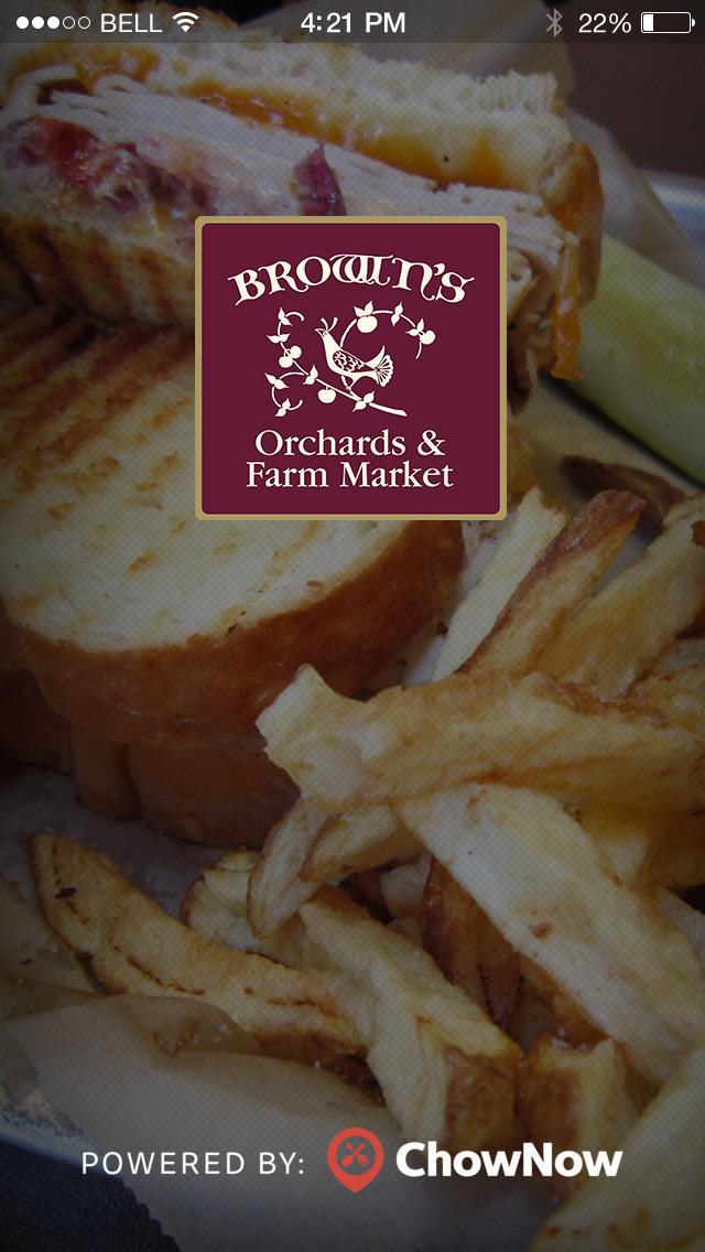 Brown's Orchards Farm Market screenshot 1