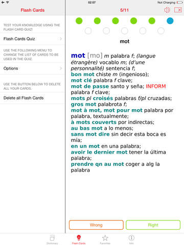 Spanish - French Berlitz Mini Talking Dictionary screenshot 8