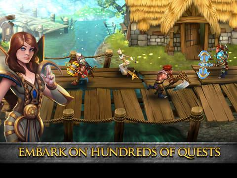 Divine Might - 3D Dungeon Crawler MMORPG screenshot 6