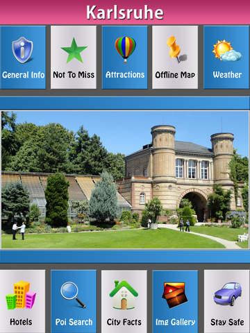 Karlsruhe Offline Map Travel Guide screenshot 6