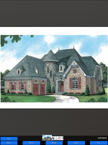 Chateau House Plans screenshot 6