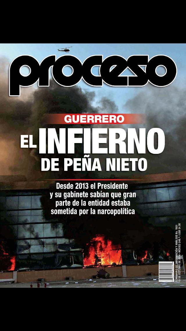 Revista Proceso screenshot 1