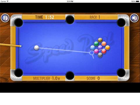 Speed Pool King Free Game !!! screenshot 6