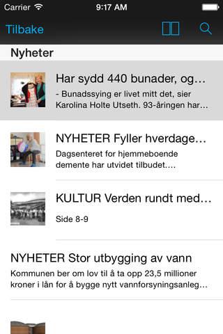 Hitra-Frøya eAvis - náhled