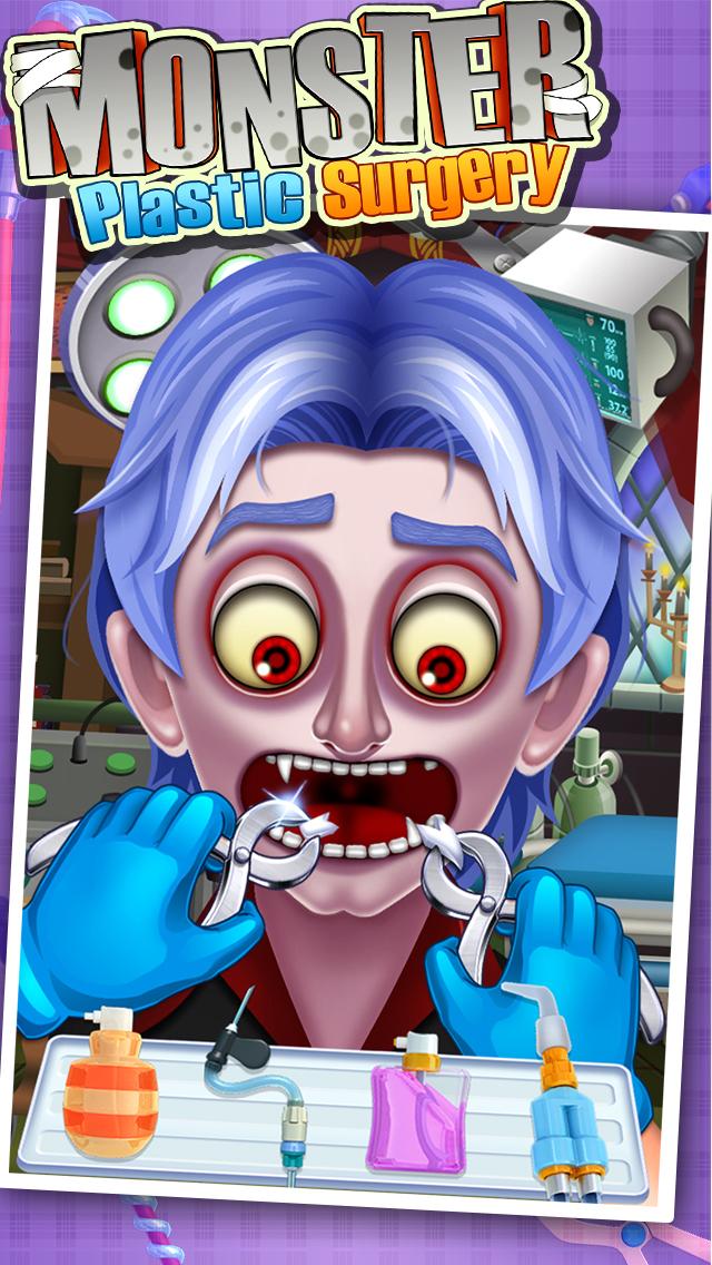 Monster's Plastic Surgery Simulator - Surgeon Games screenshot 2