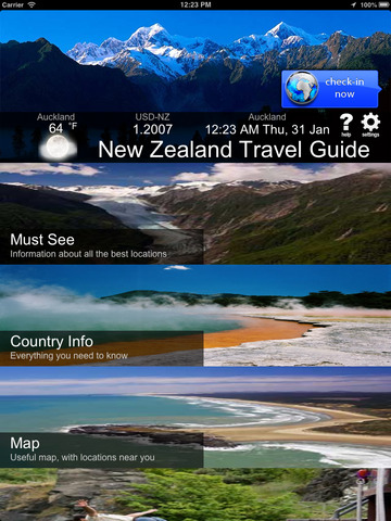 New Zealand - Travel Guide screenshot 5