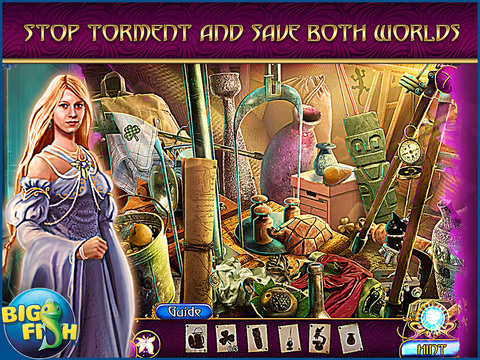 Amaranthine Voyage: The Shadow of Torment HD - A Magical Hidden Object Adventure screenshot 2