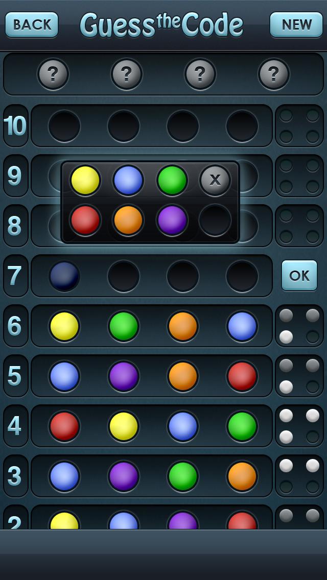 Guess the Code! screenshot 1