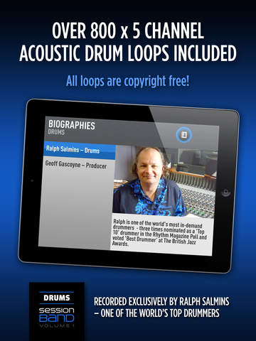 SessionBand Drums 1 screenshot 7