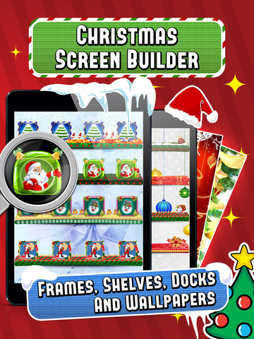 Christmas Screen Builder - Icon Skins Maker screenshot 5