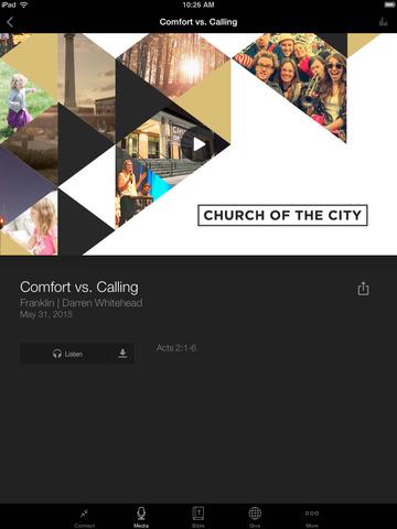 Church of the City screenshot 8