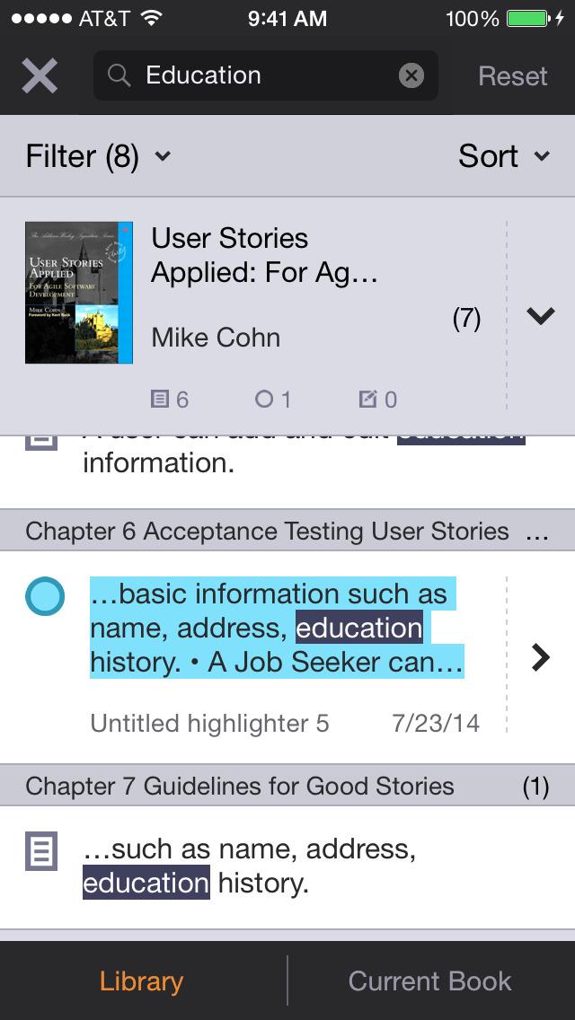Bookshelf screenshot 5