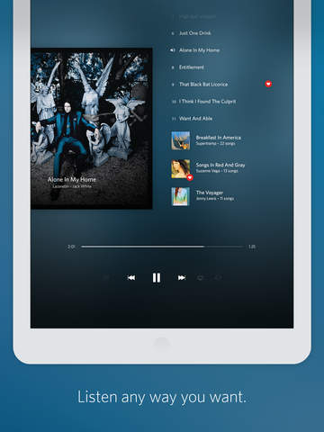 Rdio Music screenshot 7