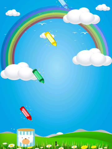 Crayon Collector Invasion – Fast Falling Game for Kids Free