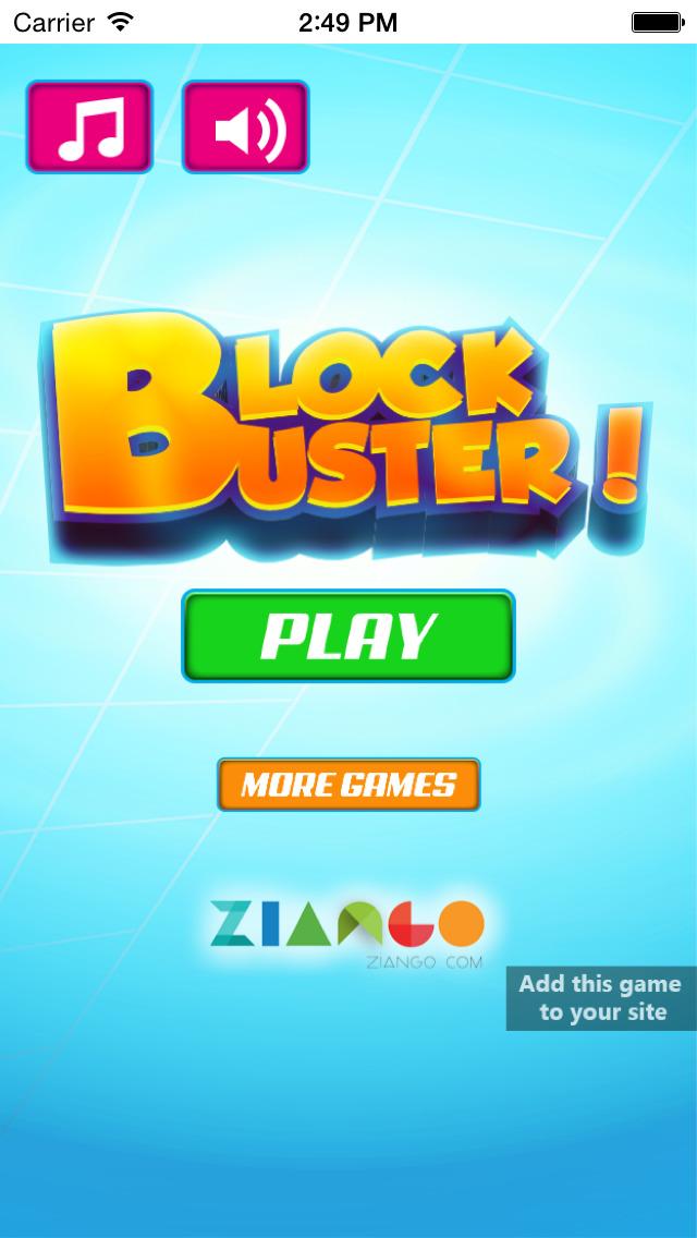 Block Buster Free Game !!! screenshot 1