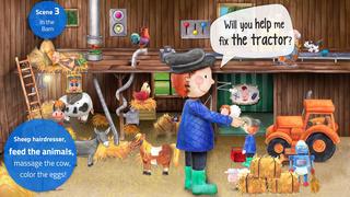 Tiny Farm: Animals & Tractor screenshot 4