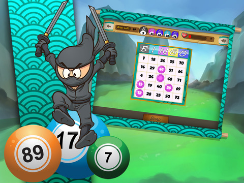 Ninja Bingo screenshot 8