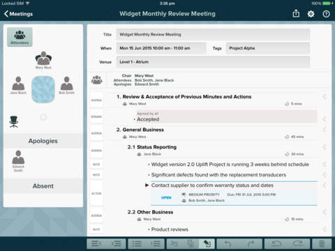 for Meetings screenshot 1