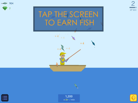 Fishy Clicker - Original Incremental Idle Game about Fishing screenshot 6