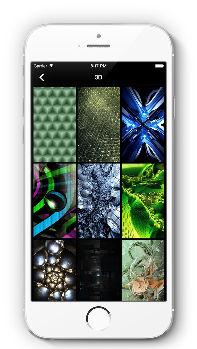 Wallpapers for iOS 8, iPhone 6/Plus Pro screenshot 2