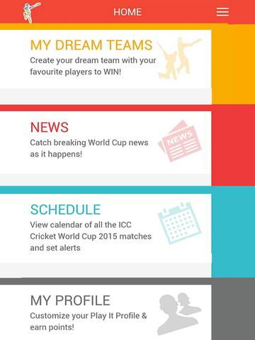 ICC Cricket World Cup 2015 Fantasy Cricket screenshot 6